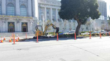Van Ness BRT groundbreaking