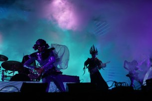 Empire of the Sun performs at the Outside Lands Music Festival at Golden Gate Park in San Francisco, Calif., on Saturday, August 12, 2017.
