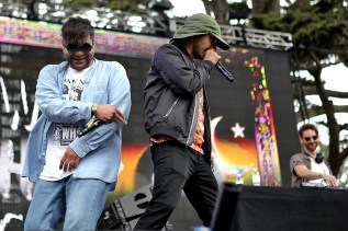 The Swet Shop Boys perform at the Outside Lands Music Festival at Golden Gate Park in San Francisco, Calif., on Sunday, August 13, 2017.