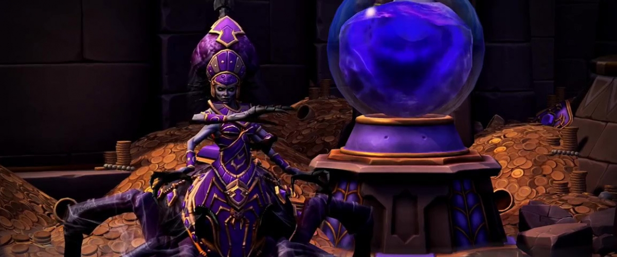 Image result for boss on tomb of the spider queen