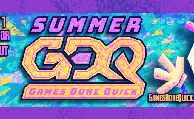 Summer Games Done Quick 2018 Day 1 Schedule And Runs To