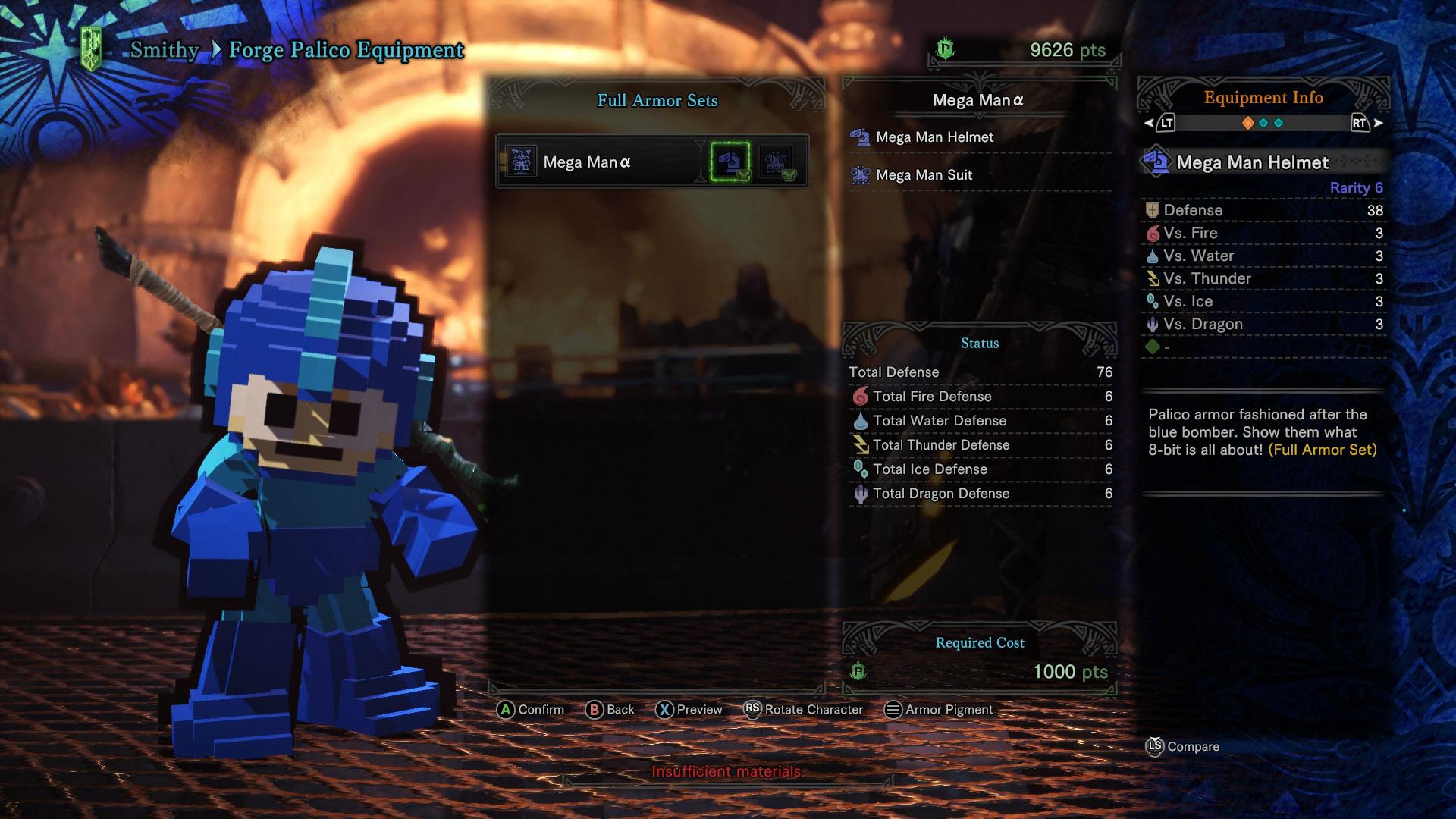 How To Unlock Mega Man Armor In Monster Hunter World Shacknews