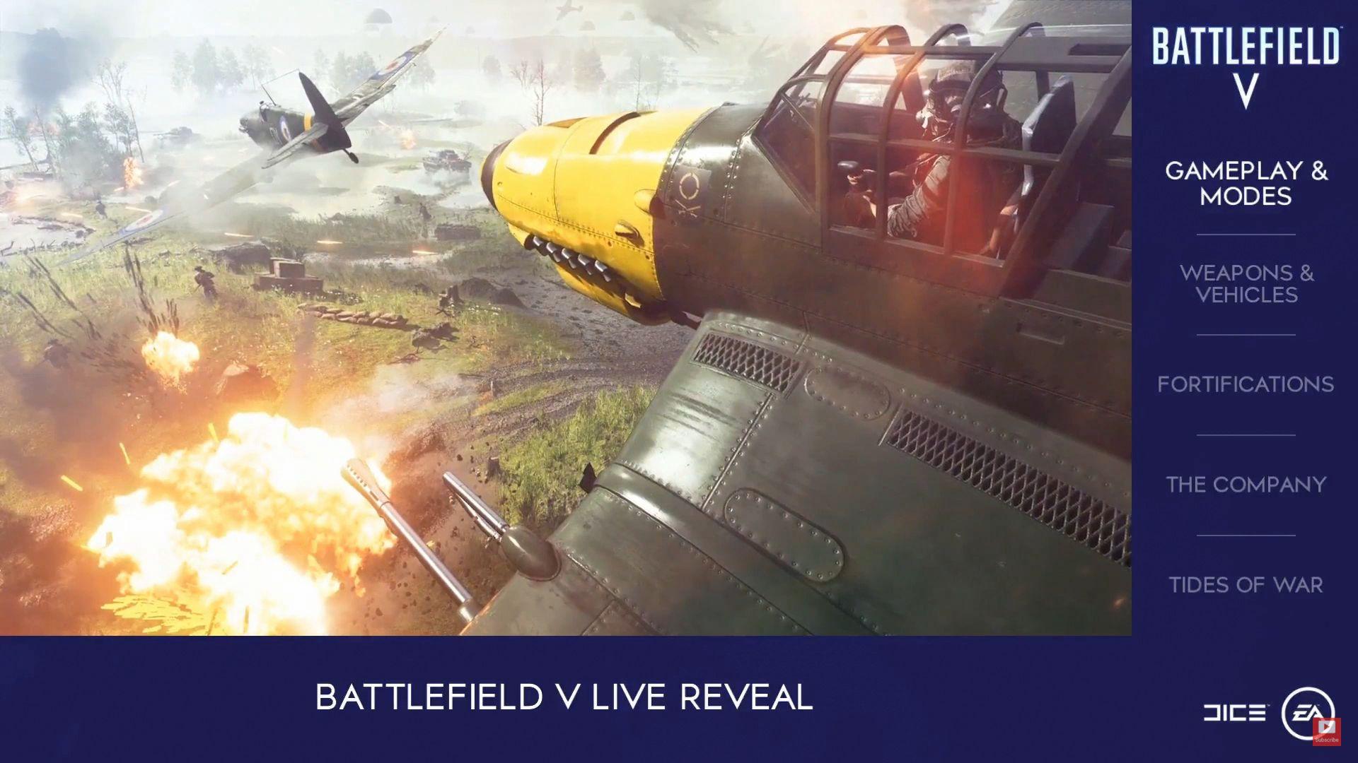 WW2 Setting Confirmed In Battlefield 5 Live Reveal Shacknews