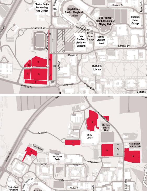 Umd Parking Map : parking, Online, Reservations, Event