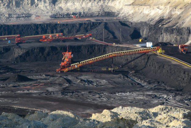 Wyoming coal mine