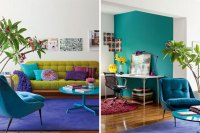 12 Unbelievably Colorful Living Rooms | Brit + Co