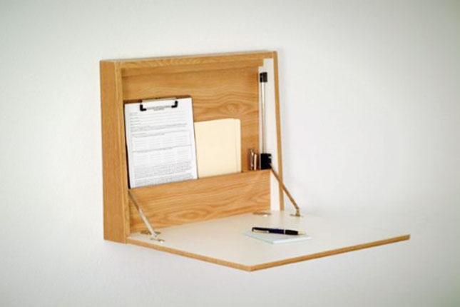 Space Saver 22 WallMounted Desks to Buy or DIY  Brit  Co
