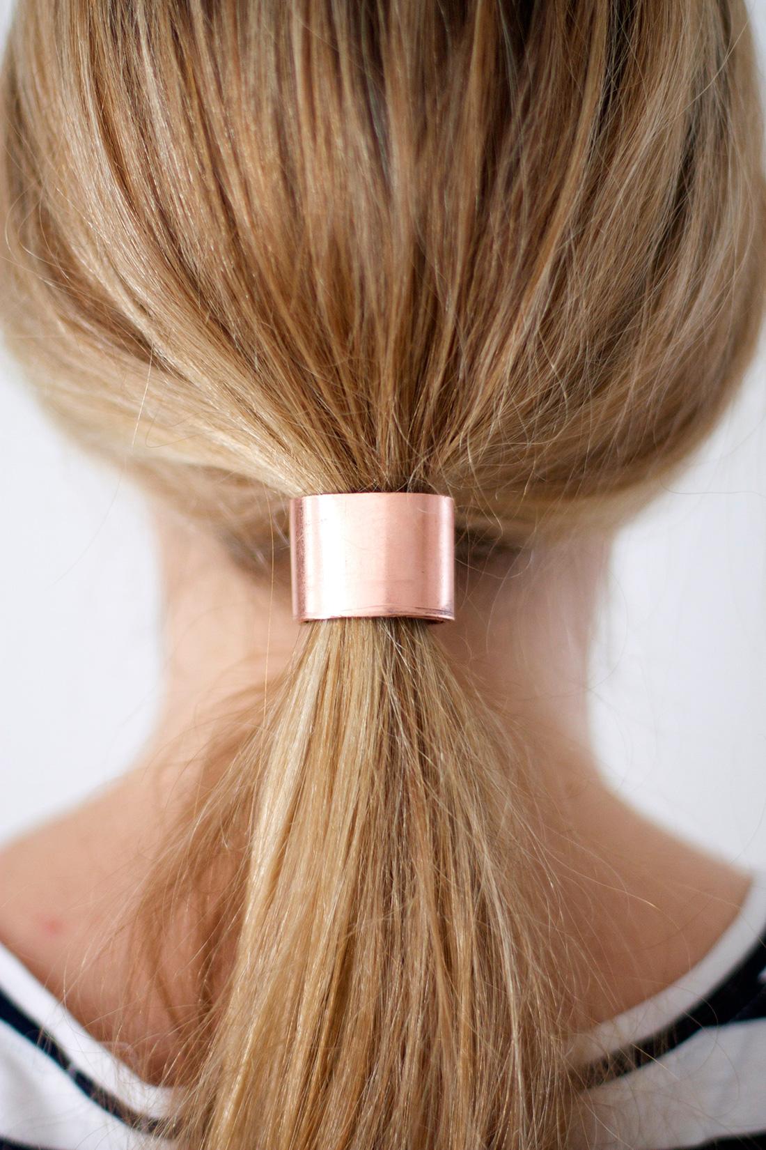 Tie One On 2 Materials 4 DIY Hair Cuffs Brit Co