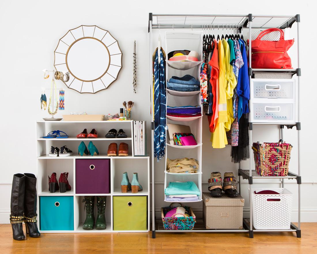 Closet 01 rack