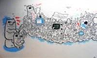 15 Ways to Doodle on Your Walls | Brit + Co