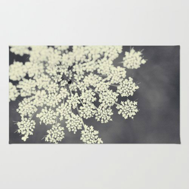 queen annes lace rug