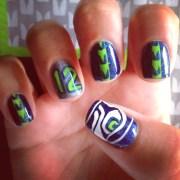 nail art design rock