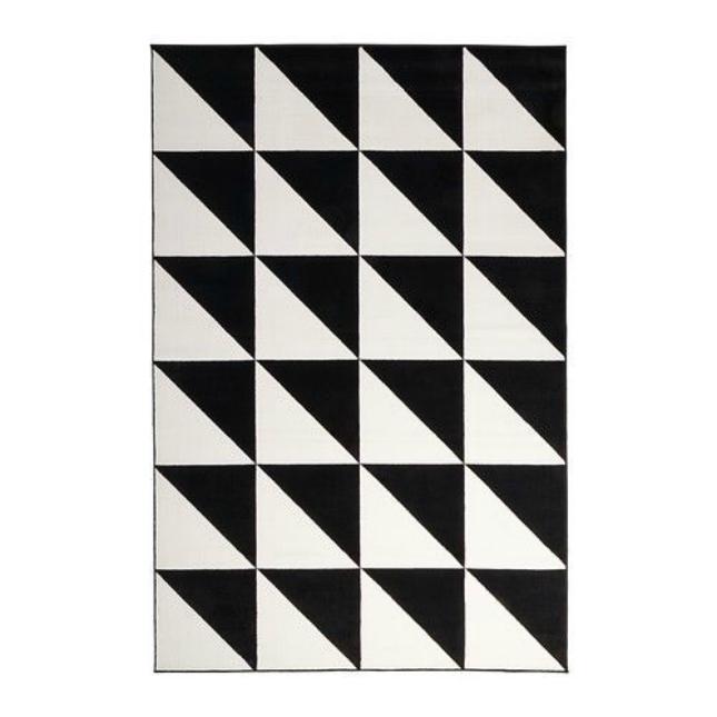triangle rug