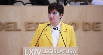 """""""Confiamos en que el Gobierno Federal corrija el rumbo"""" económico: Cristina Márquez"""