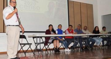 Piden apoyo a delegados  para el censo de población del 2020