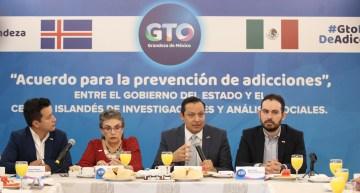 Presenta Guanajuato un Acuerdo para la Prevención de las Adicciones