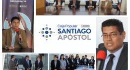 """Caja Popular """"Santiago Apóstol""""  lanza su APP Móvil para sus socios en la región"""