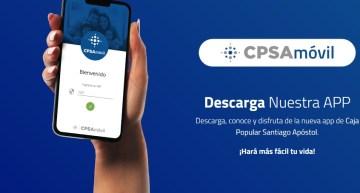 Descarga nuestra APP , Caja Popular Santiago Apóstol