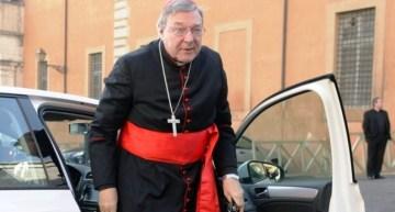 Trasladan al Cardenal Pell a una cárcel de máxima seguridad