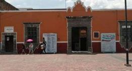 Rehabilitan la puerta principal  del Instituto Municipal de Cultura