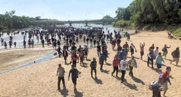 Que en la frontera, no hubo incidentes, ni represión a migrantes: Segob
