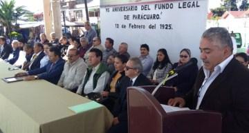 Vistoso, el desfile conmemorativo  de los 95 años de la fundación de Parácuaro