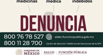 Denuncia Ciudadana: Salud