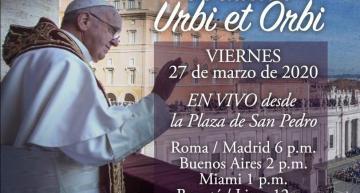 Mensaje Urbit et Orbi por el Papa Francisco