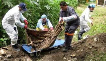 Suman 24 cadáveres hallados en fosa  de Coeneo, Michoacán; hay 4 mujeres