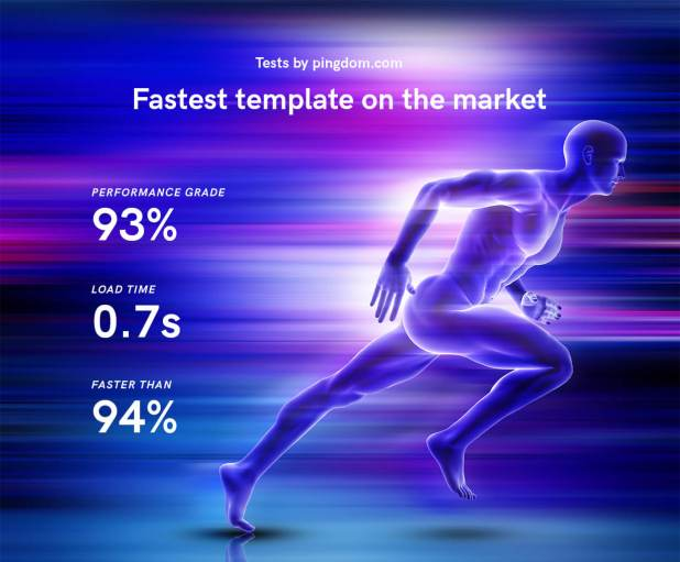 Ivory HTML5 template speed