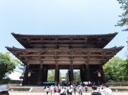 The main gate to the Tōdai-ji complex