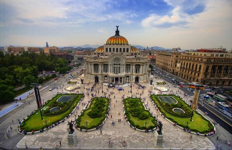 3. Palacio de Bellas Artes
