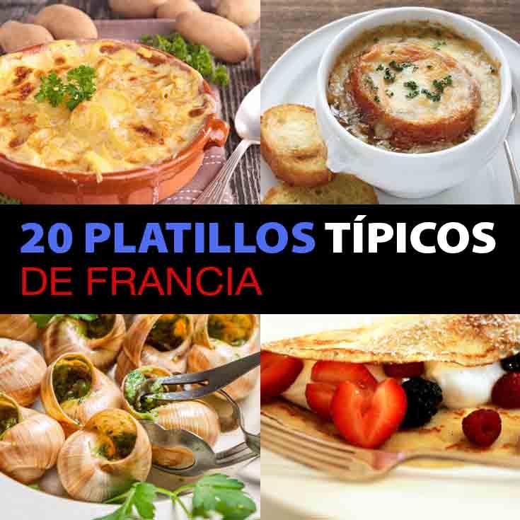 20 platillos tpicos de Francia que tienes que comer