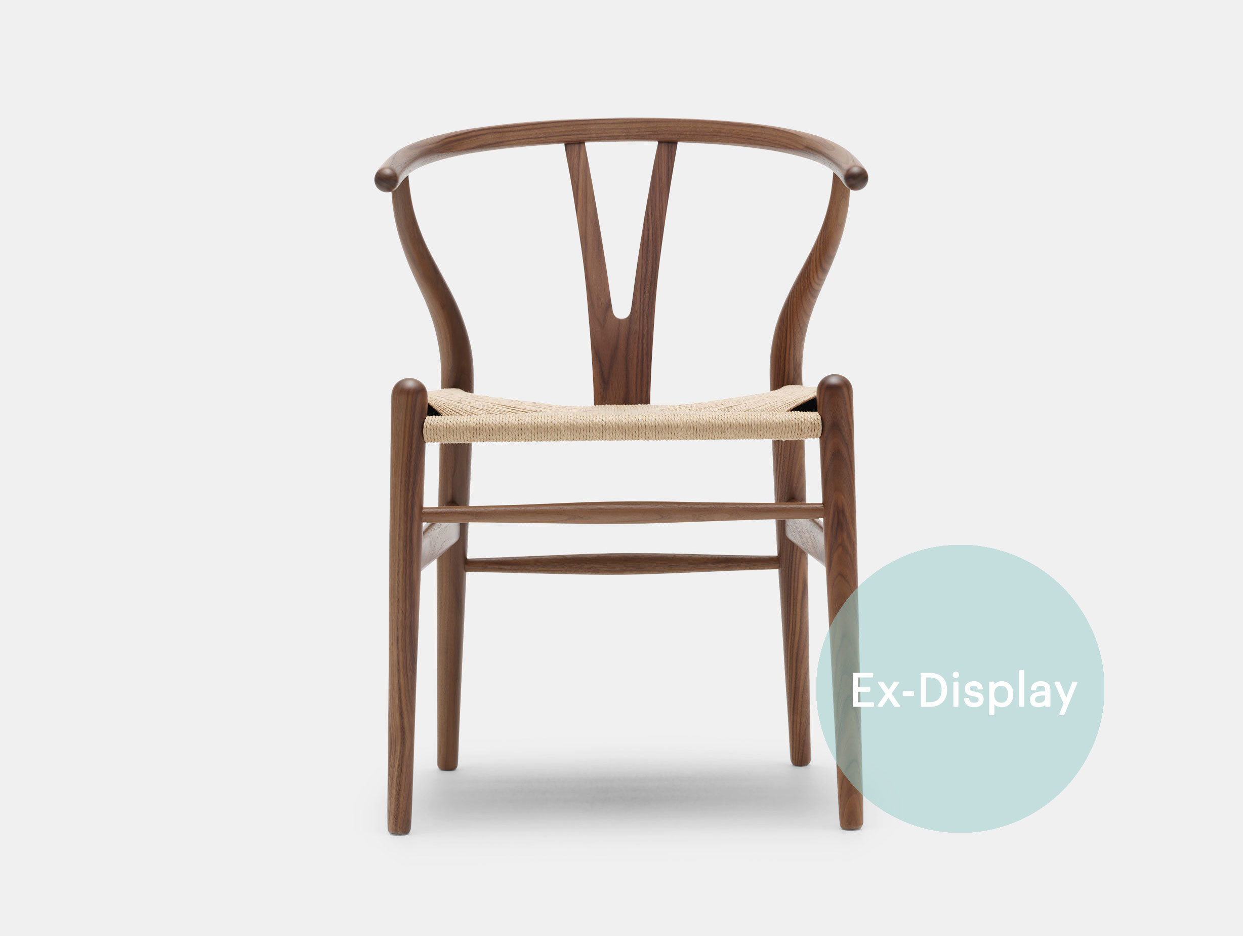 Wishbone Chairs Ch24 Wishbone Chair Walnut 30 Off At 745 Viaduct
