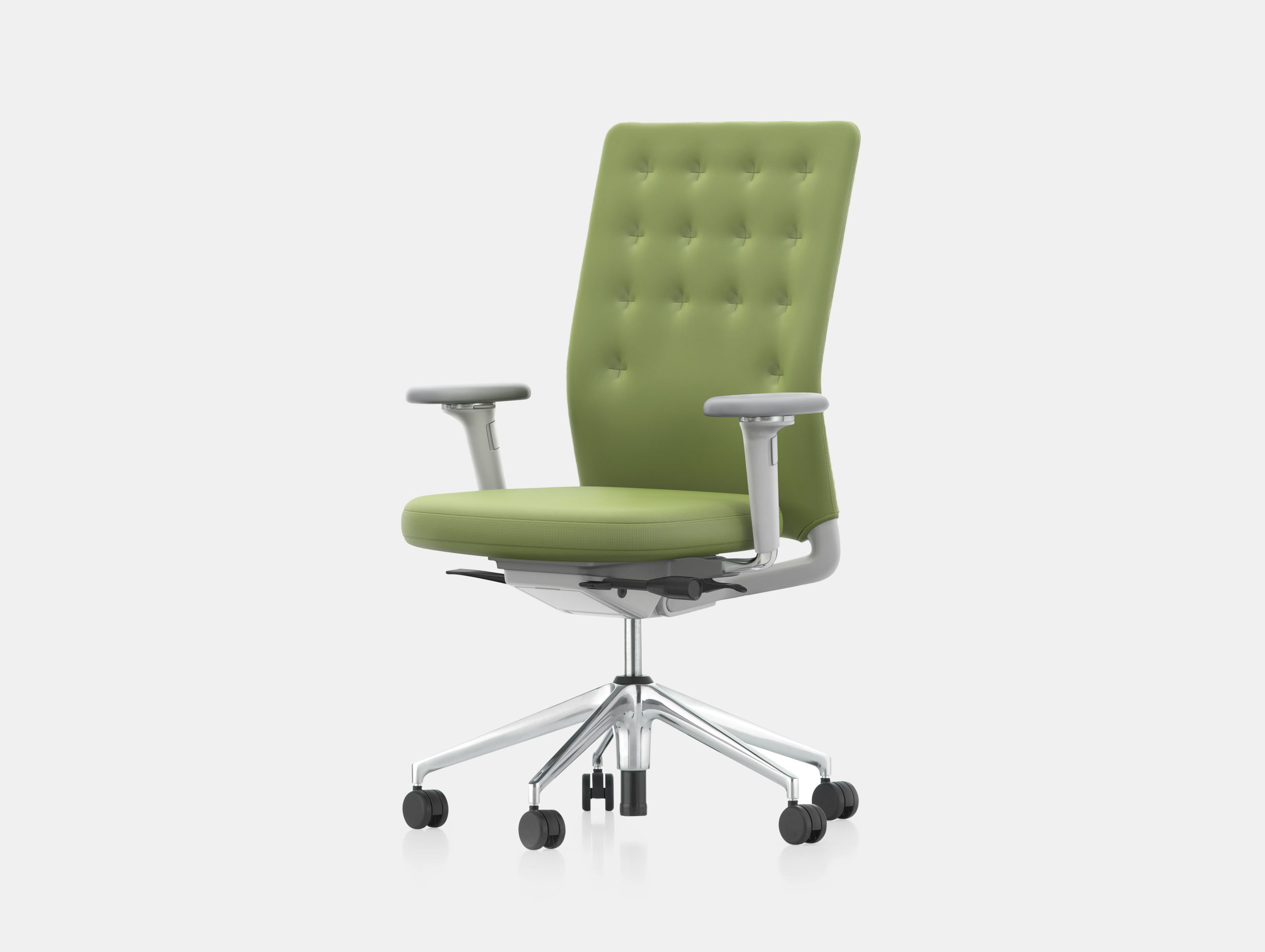 vitra ergonomic chair serena and lily hanging id trim office viaduct green antonio citterio