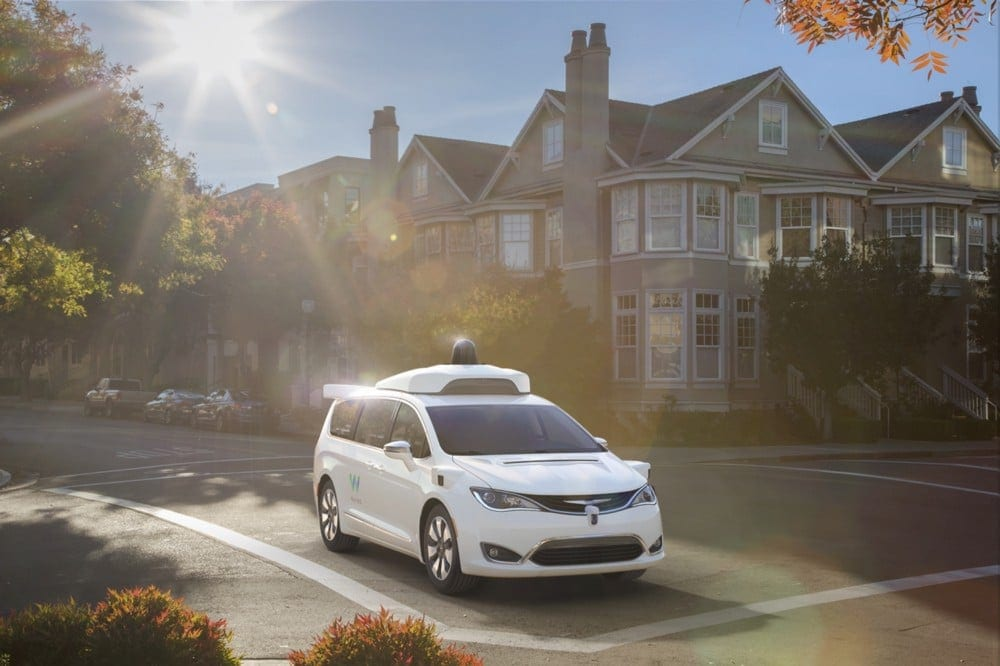 waymo chrysler pacifica street wattev2buy