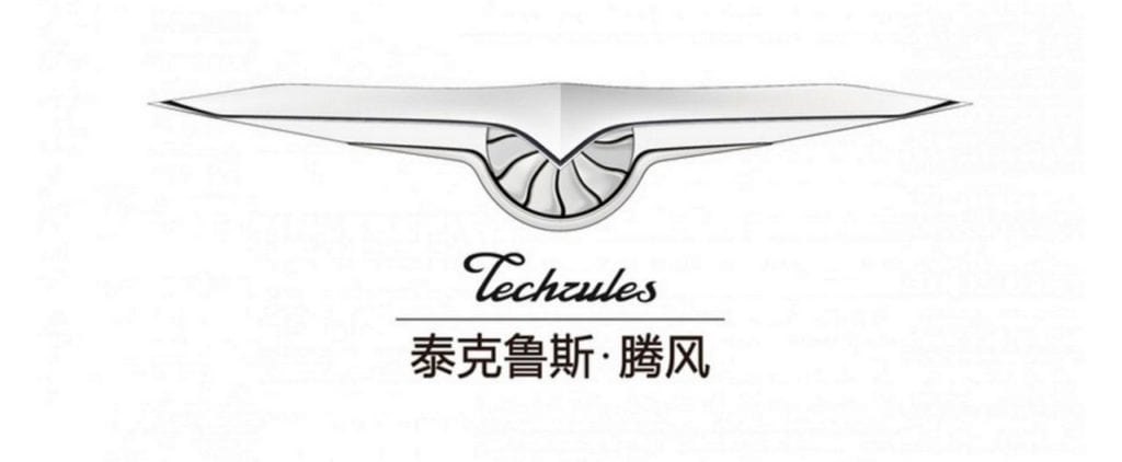 TECHRULES ELECTRIC VEHICLE logo