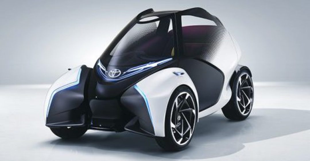 toyota i-trill concept vehicle