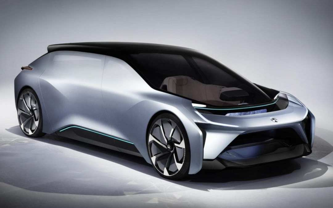 NextEV gets support for its autonomous car the NIO EVE