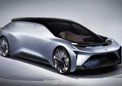 NIO EVE Autonomous vehicle