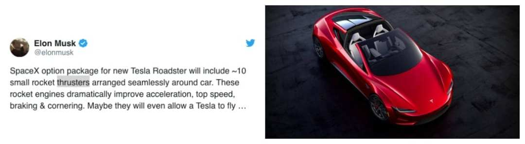 Tweet-Musk-on-Roadster-2019 top 5 ev news week 23