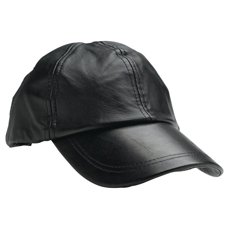 Wholesale Solid Genuine Leather Baseball Cap - Buy ...