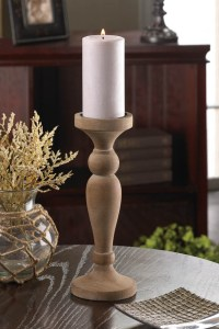 Wholesale Artisan Wooden Candle Holder