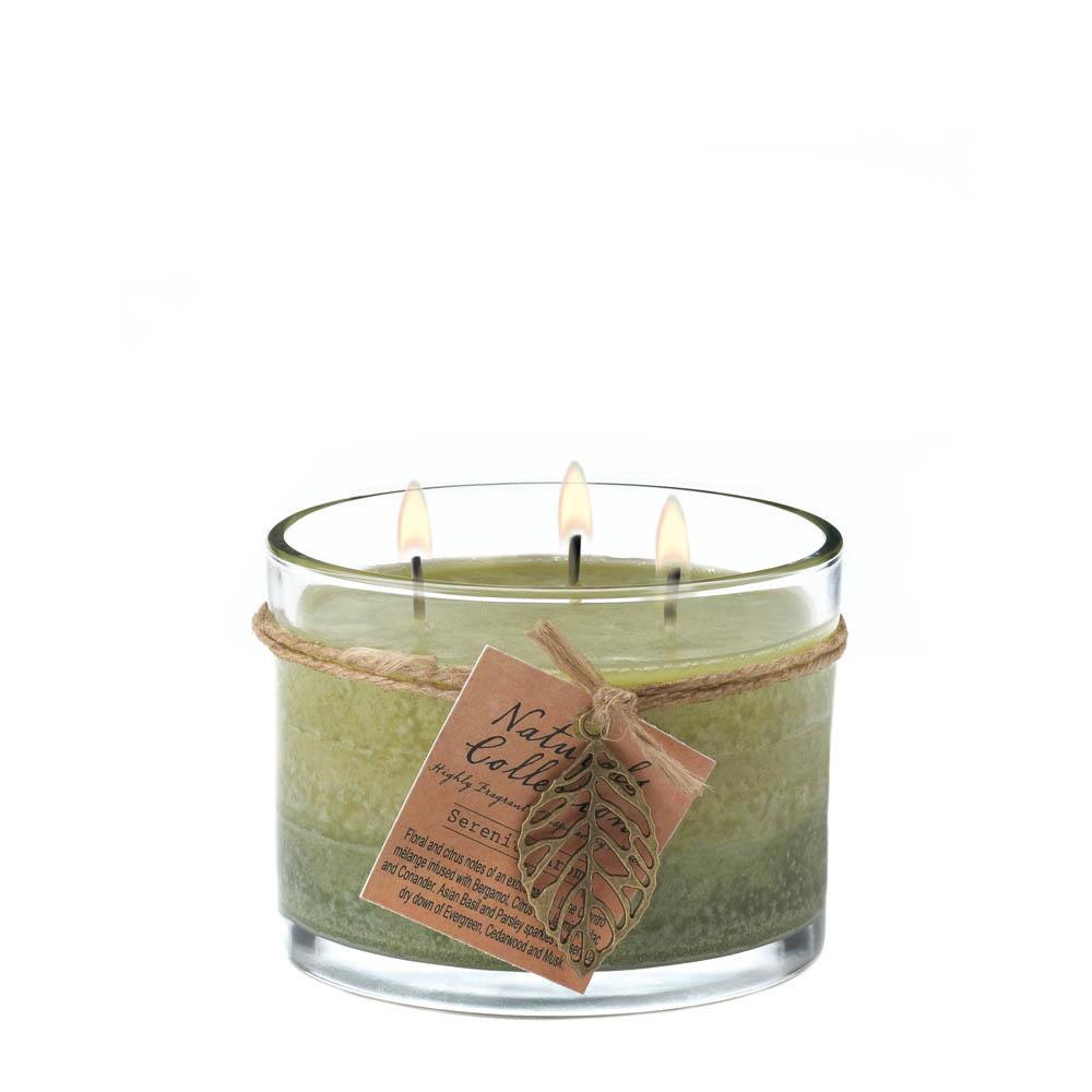 Wholesale Serenity Leaf Jar Candle Buy Wholesale Candles