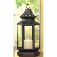 Wholesale Large Black Stagecoach Lantern