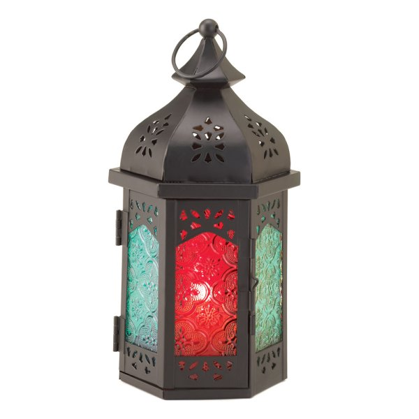 Exotic Candle Lantern Tabletop