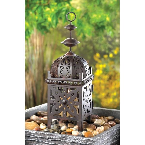 Metal Morrocan Style Lantern Candle - Lanterns