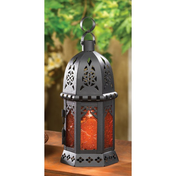 Small Moroccan Style Candle Lantern - Lanterns