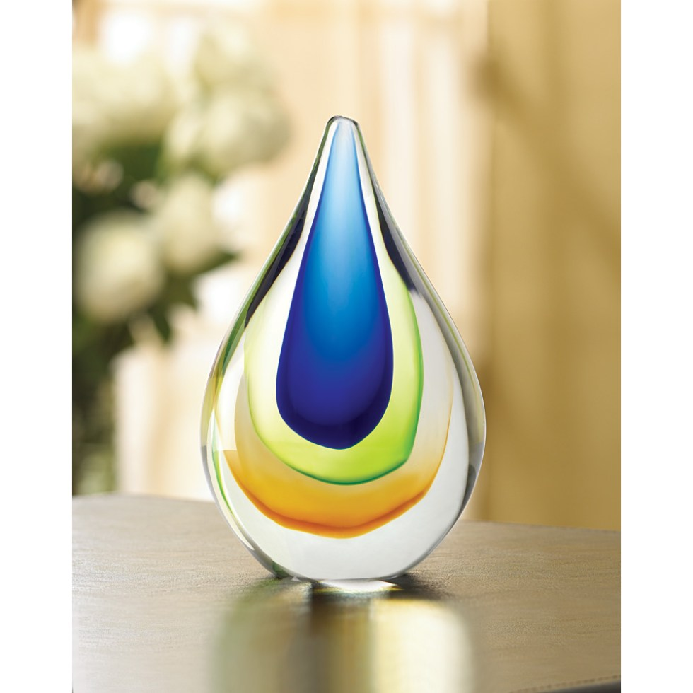 Wholesale Art Glass Teardrop - Buy Wholesale Glass Art