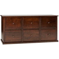 Traditional 6 Drawer Lateral File Cabinet | Hotzon ...